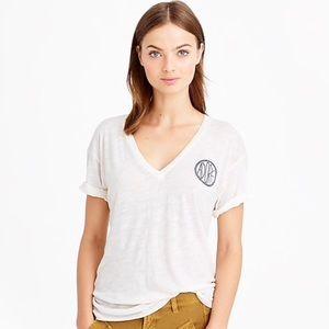 J crew Drapey Adore T-shirt